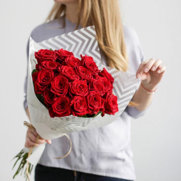 21 красная Роза Эквадор