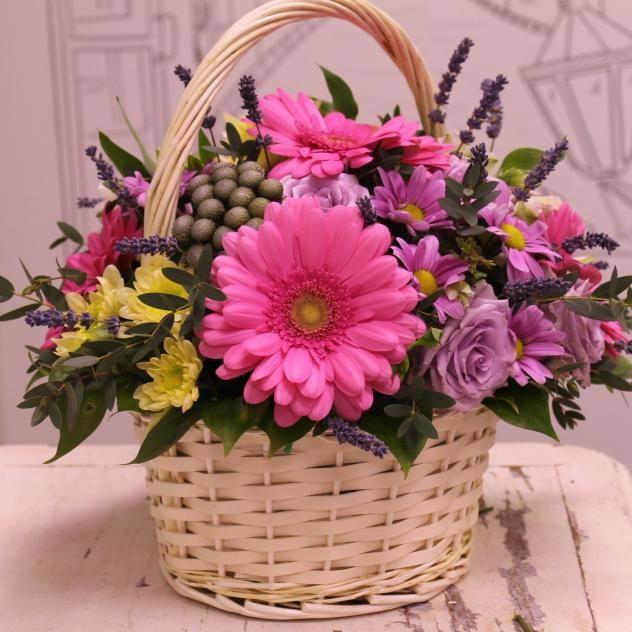 "Корзинка ""Аромат цветов"""