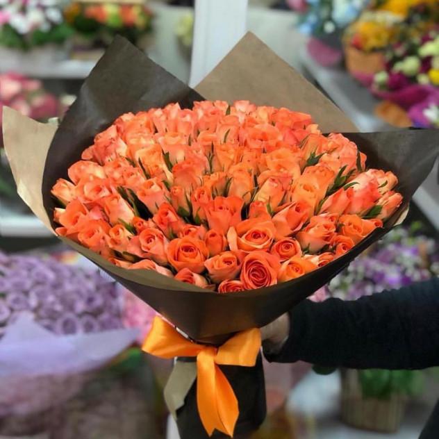 Букет 49 роз
